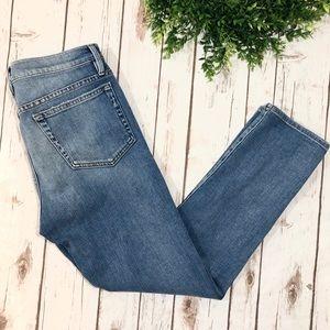 FRAME Denim Le Boy Jeans Light Wash High Rise
